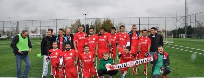 Pendik Ampute Futbol Takım Habertürk'e Haber Oldu