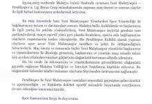 Pendikspor'dan Basın Açıklaması