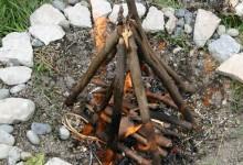 5 Adımda Doğal Yollarla Ateş Yakmak