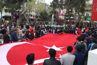Pendik Ak Parti Gençlik Kolları'ndan Teröre Karşı Protesto