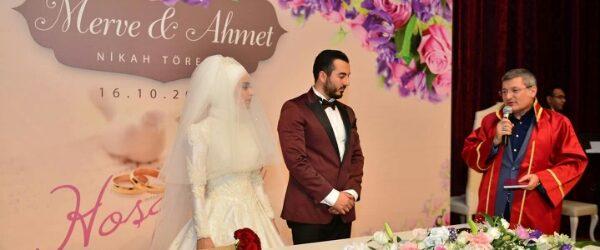Pendik Belediye Başkan Yardımcısı Ramazan Öztürk'ün Oğlu Dünya Evine Girdi