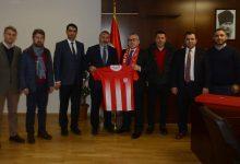 Pendikspor'dan Yeni Kaymakam Yılmaz Şimşek'e Hayırlı Olsun Ziyareti