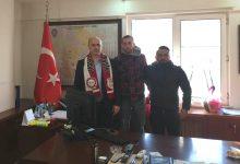 Pendikspor Taraftar Grubu Magnifico Yeni İlçe Emniyet Müdürü'nü Ziyaret Etti