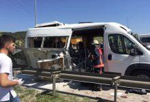 Havalimanı Yolunda Servis Minibüsü Patladı Detaylar Gelmeye Başladı