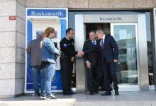 Pendik Belediye Başkanı O Bankayı Ziyaret Etti