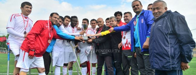 Pendikspor Ampute Futbol Takımı Kupanın Sahibi