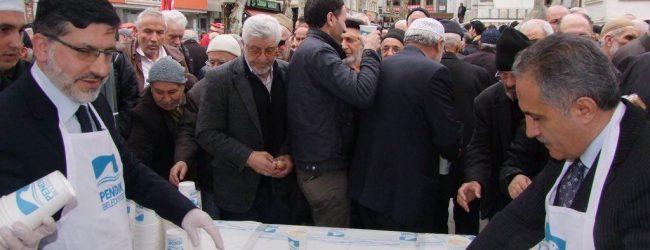 """Pendik Camii'nde """"18 Mart Çanakkale Zaferi ve Çanakkale Şehitleri Anma"""" Programı İcra Edildi"""