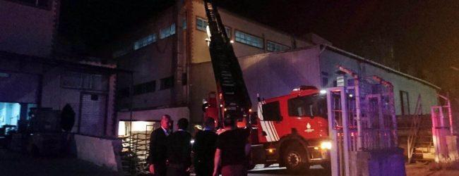 Pendik'te Fabrika Yangını :1 Yaralı