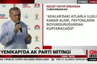 Cumhurbaşkanı Erdoğan Açıkladı Faytonlar Kaldırılıyor