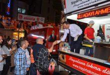 MHP Milletvekili Adayı Ahmet Turan Hocaoğlu Lokma Dağıttı