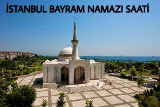 İstanbul Bayram Namazı Saati