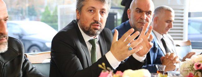 Pendik Belediye Başkan A.Adayı Süleyman Pergel Basını Ağırladı