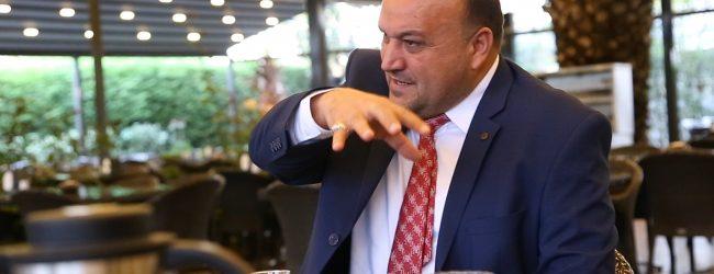 Pendik Belediye Başkan A.Adayı Ayhan Kara Basını Ağırladı