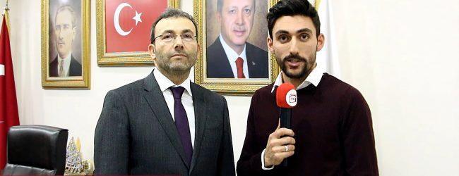 AK Parti Pendik Belediye Başkan Adayı Ahmet Cin ile İlk Röportaj