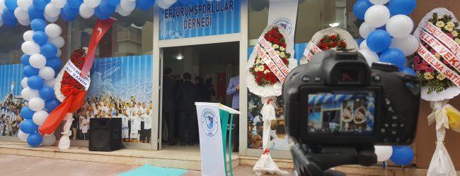 Erzurumsporlular Derneği Pendik'te Açıldı