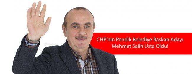 Mehmet Salih Usta CHP Pendik Belediye Başkan Adayı Oldu