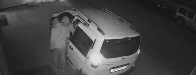 Hırsızlara Turşu Bidonu Fırlattılar