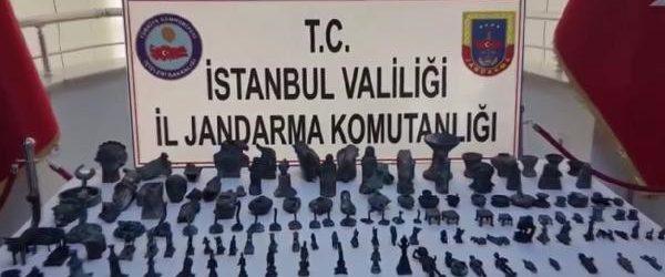 """Jandarmadan """"Tarihi Eser"""" Operasyonu"""