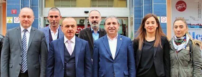 Pendik Belediye Başkan Adayı M. Salih Usta Pendik Belediyesi'ni Ziyaret Etti