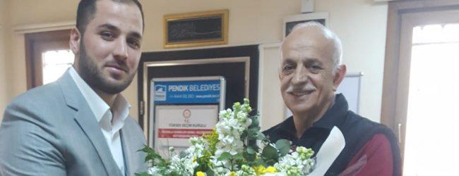 Muhtar Adayı Ahmet Öden'den Vefa Örneği – Mevcut Muhtarı Ziyaret Etti