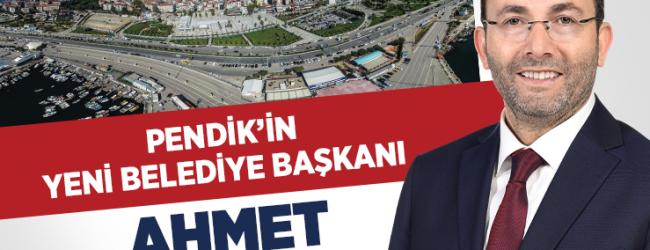 Pendik'in Yeni Belediye Başkanı Ahmet Cin Oldu