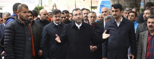 Başkan Ahmet Cin Yapılmayanı Yaptı