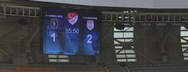 Başakşehir Pendikspor'a Boyun Eğdi