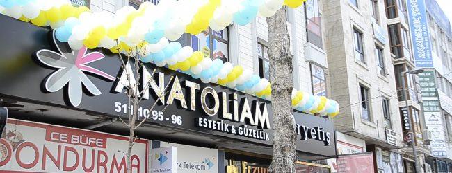 Anatoliam Güzellik Merkezi'nin Pendik'teki Yeni Şubesi Açıldı