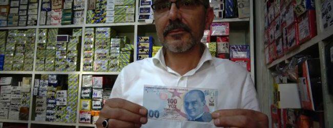 10 Yazan 100 Lirayı Sahte Sandı Gerçek Çıktı