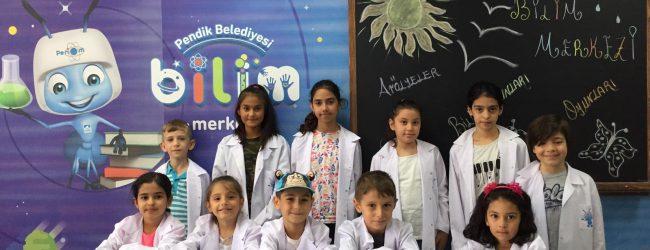 Bilim Merkezi'nin Küçük Kâşifleri Yarışıyor