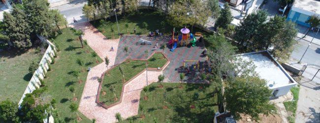 Çamçeşme Parkı Yeniden Hizmete Girdi