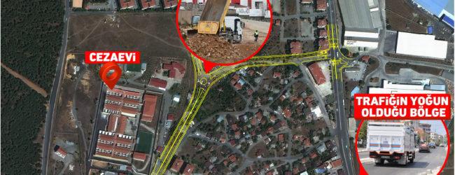 Velibaba Mahallesi'nde 4 Şeritli Cadde Trafiğe Açıldı