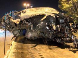 Pendik-Kartal Sahil Yolu'nda Makas Attığı İddia Edilen Sürücü Kaza Yaptı