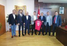 Pendikspor'un Yeni Yönetimi Kaymakam İlhan Ünsal'ı Ziyaret Etti