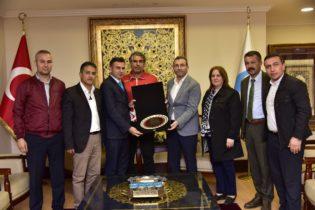 Dünya Kırşehirliler Dernek Başkanı Ünal Kaya'dan Ahmet Cin'e Ziyaret