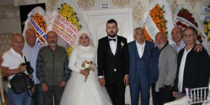 Gazeteci Fahrettin Uysal Kızını Evlendirdi