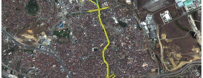 9 Km'lik Alternatif Yolun 3 Km'si Tamamlanmak Üzere