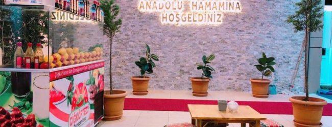 Anadolu Olimpik Hamamı'nın Hizmette Rakibi Yok