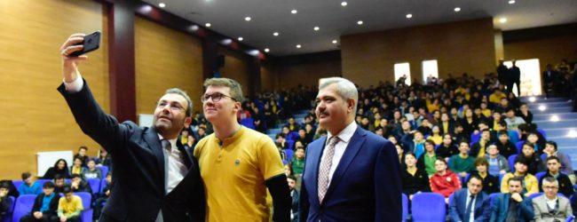 Başkan Ahmet Cin Liseli Gençlerle Buluşuyor