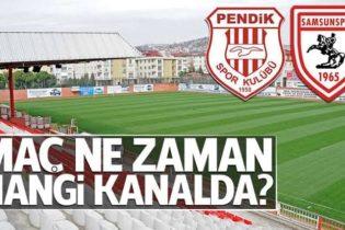 Pendikspor – Samsunspor Müsabakası Yarın Pendik Stadyumu'nda