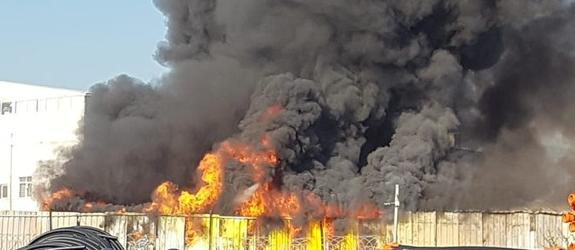 Ramazanoğlu Mahallesi'nde Çıkan Yangın Kontrol Altına Alındı