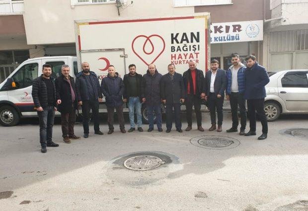 Pendef ve Kızılay Kan Bağış Kampanyası Düzenledi