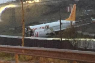 Sabiha Gökçen Havalimanı'nda Uçak Düştü