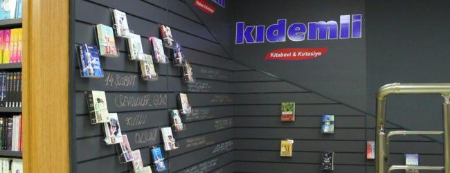 """Kıdemli Kitabevi&Kırtasiye: """"Kitap En Güzel Hediye"""""""