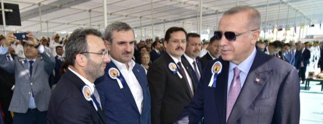 Başkan Ahmet Cin de Milli Dayanışma Kampanyası'na Katıldı