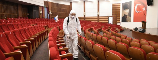 Pendik Belediyesi Koronavirüs'e Karşı Önlem Aldı