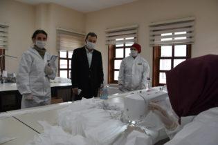 Ahmet Cin: Personelimiz İçin Koronavirüs'e Karşı Maske Üretiyoruz