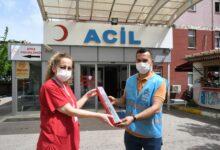 Pendik Belediye Başkanı Ahmet Cin Hemşirelere Çiçek Gönderdi