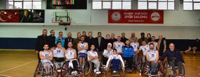 Pendik Belediyesi Tekerlekli Sandalye Basketbol Takımı Süper Ligde