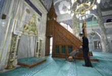 Pendik Camiileri Dezenfekte Edilip Cumaya Hazırlandı